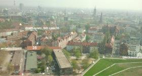 Foto mit Blick auf die Calenberger Neustadt Hannover und Pfeilen zur Anfahrt