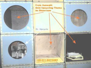 Gestalte Deine Ausstellungsfläche in der Upcyclingbörse Hannover