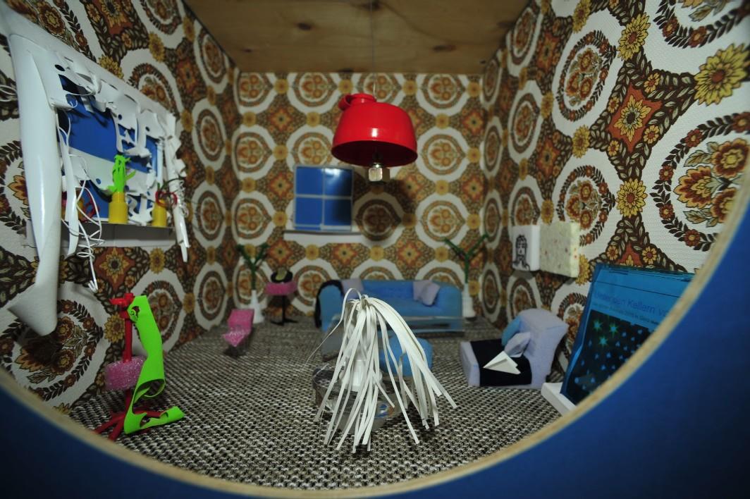 Wohnungseinrichtung - Upcycling, Ausstellung Netzwerkstatt Einfallsreich
