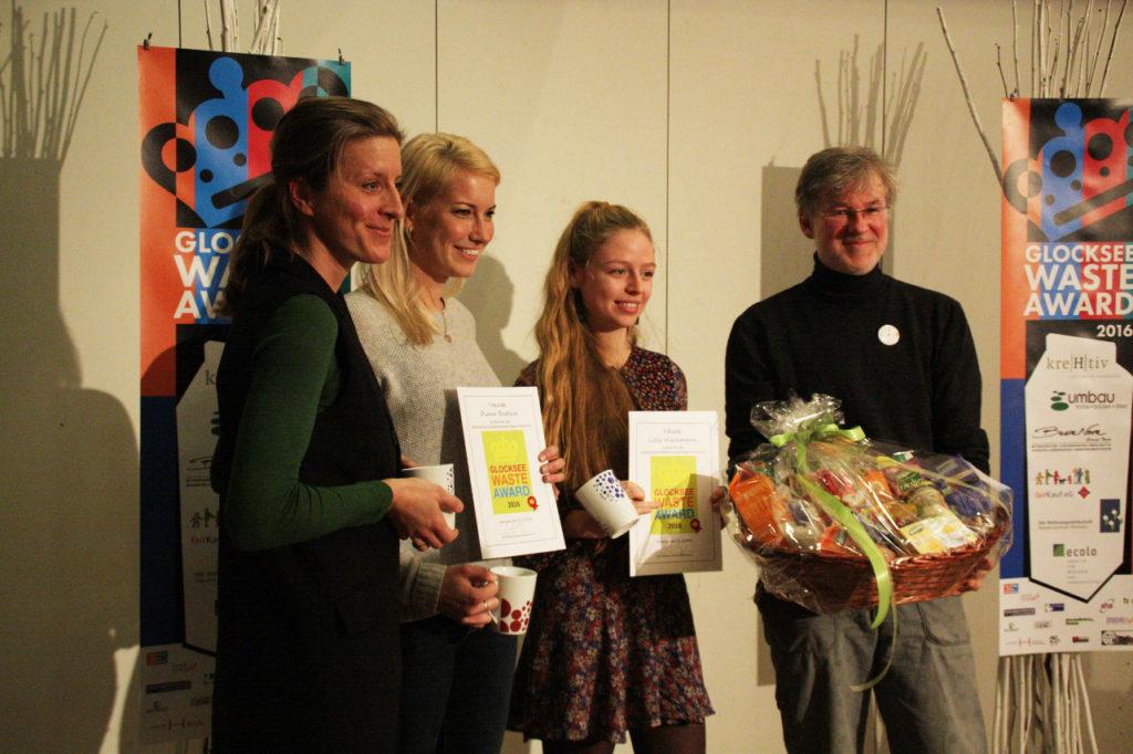 Sonderpreis aha Zweckverband Abfallwirtschaft Region Hannover, Anke Pauli, Team DIY@Home, Gert Schmidt - Glocksee Waste Award 2017, Foto: Carolina Koerber