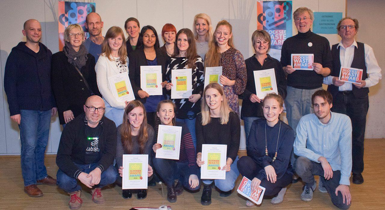 Glocksee Waste Award 2017! Noch bis 6. November Ergebnisse einreichen