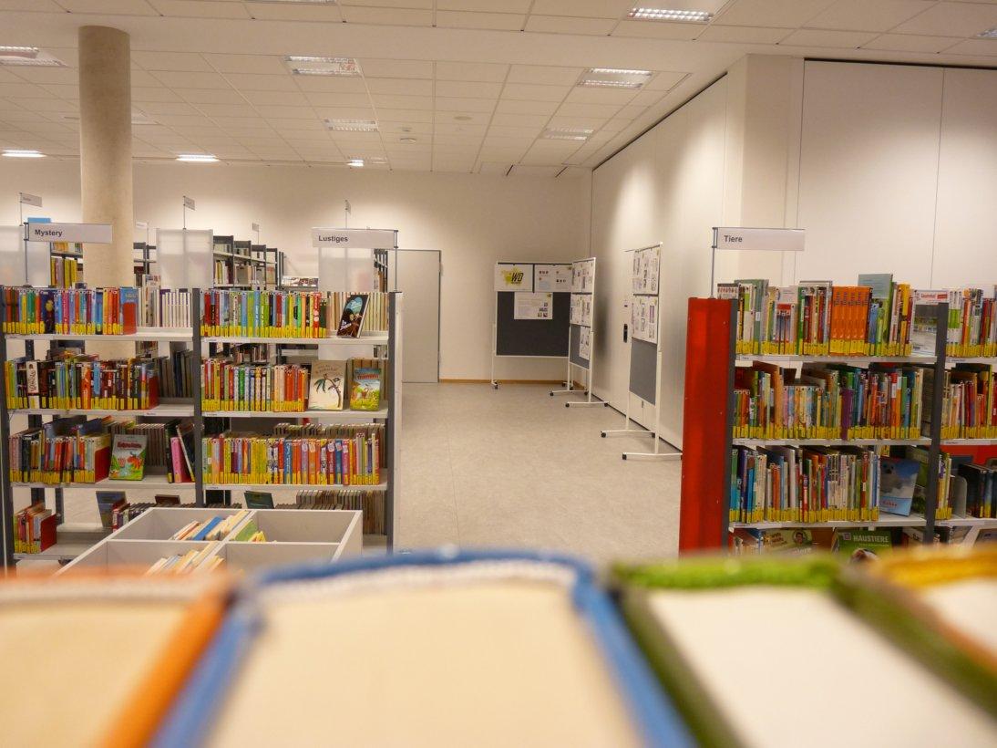 Ausstellung WohnraumOptimierung Schul- und Stadtbibliothek Hannover-Mühlenberg