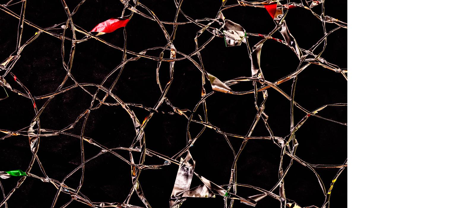 """Glance up – Neue Weihnachten mit dem Textilkunst-Objekt """"Hüftgold"""""""