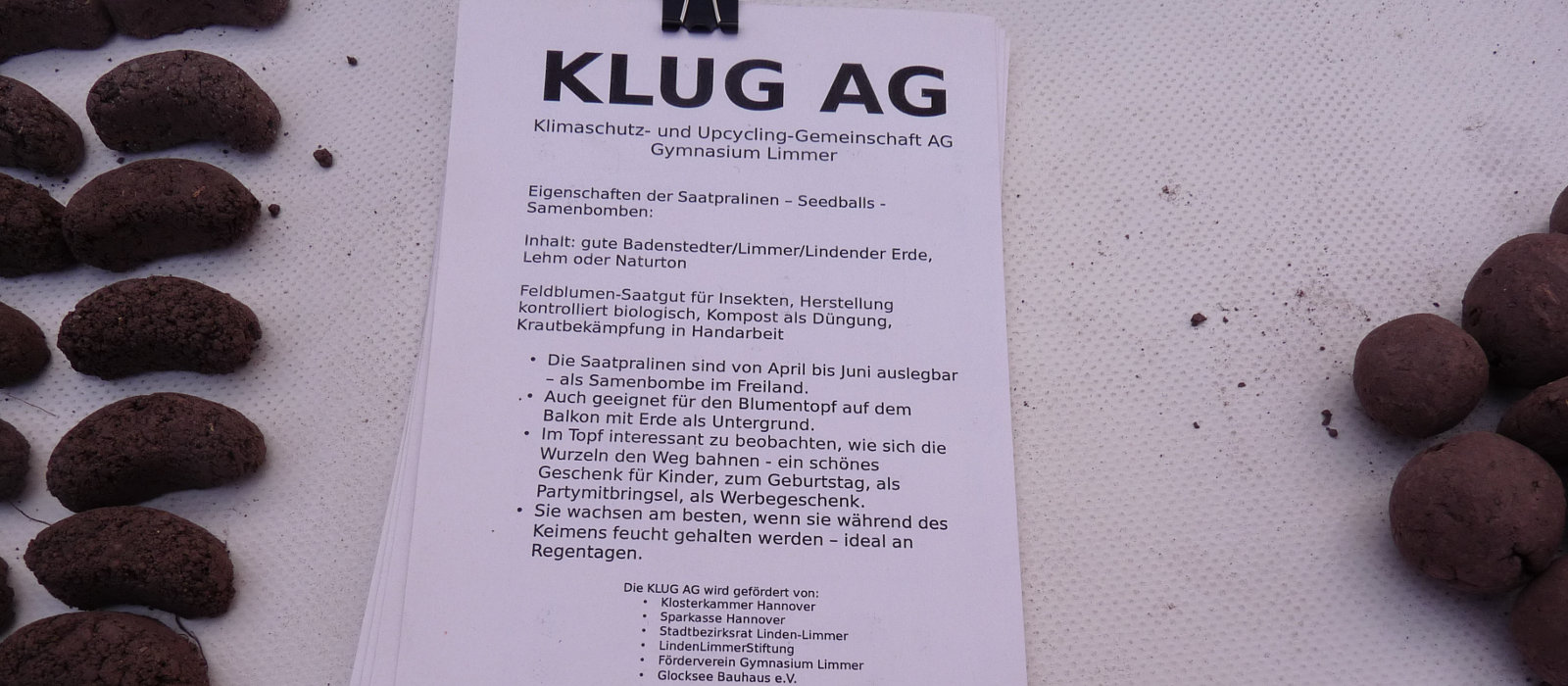 KLUG AG am Gymnasium Limmer mit Windwärts-Spende beflügelt
