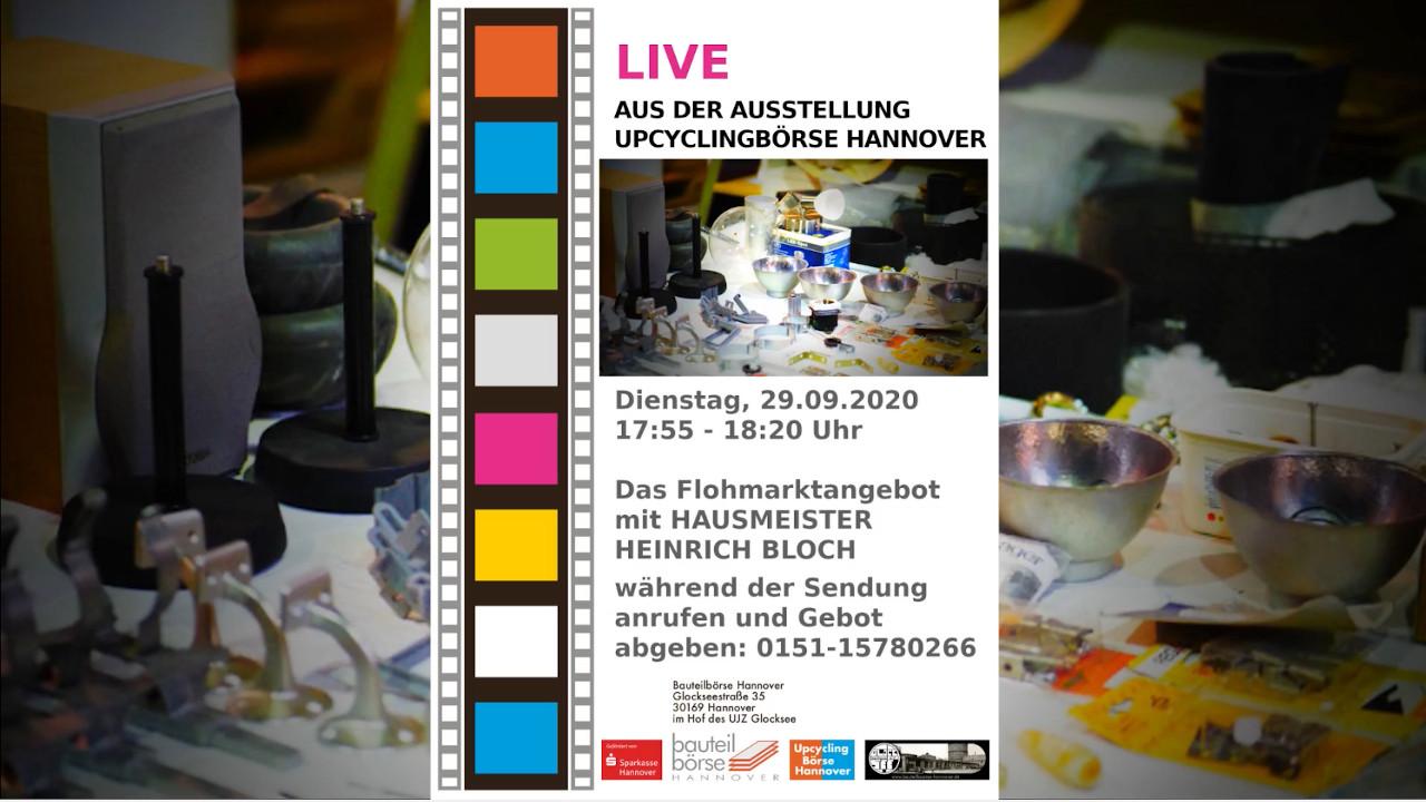 Live aus der Ausstellung: Das Flohmarktangebot (alles muss raus) mit Hausmeister Heinrich Bloch