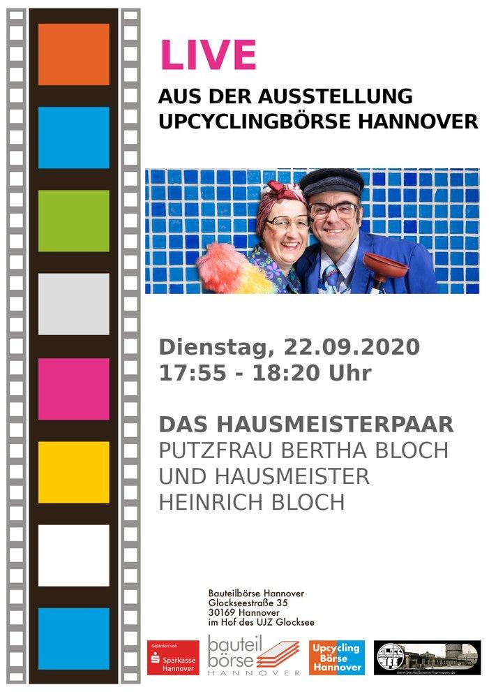 Hausmeisterpaar Putzfrau Bertha Bloch und Hausmeister Heinrich Bloch, Folge 1
