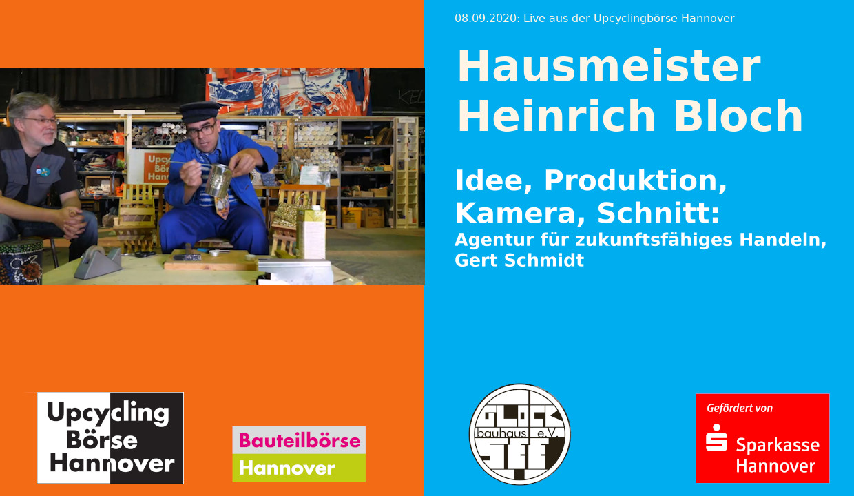 Hausmeister Heinrich Bloch, Folge 1