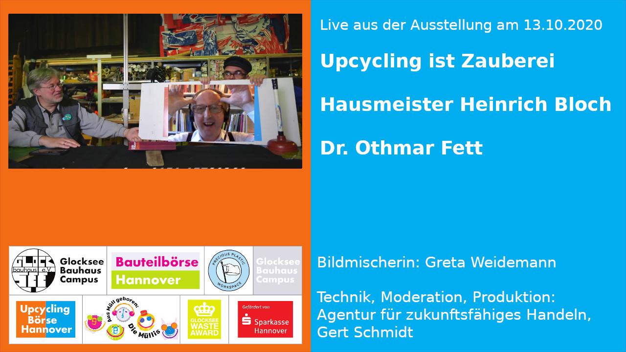 Live aus der Ausstellung: Upcycling ist Zauberei