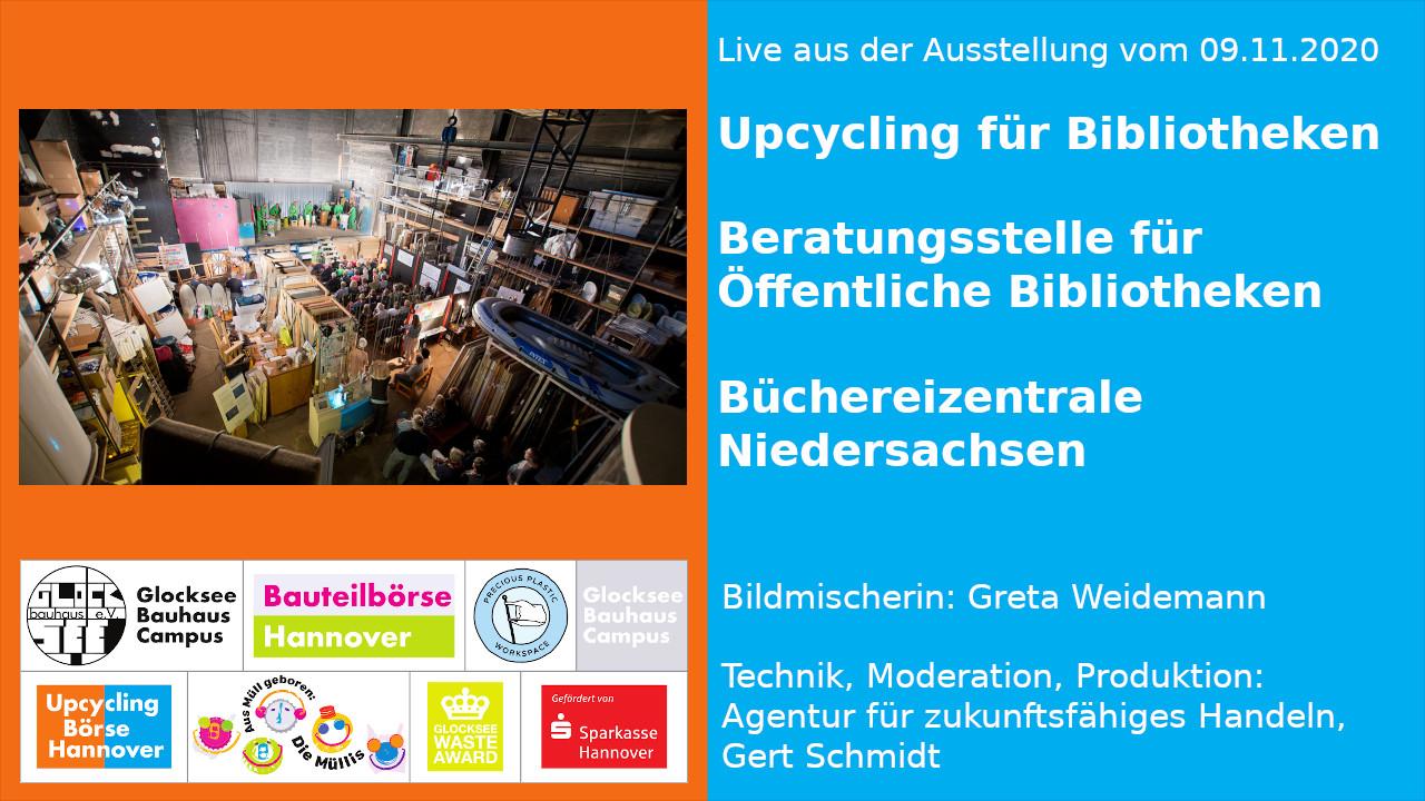Upcycling-Fortbildung – Live aus der Ausstellung