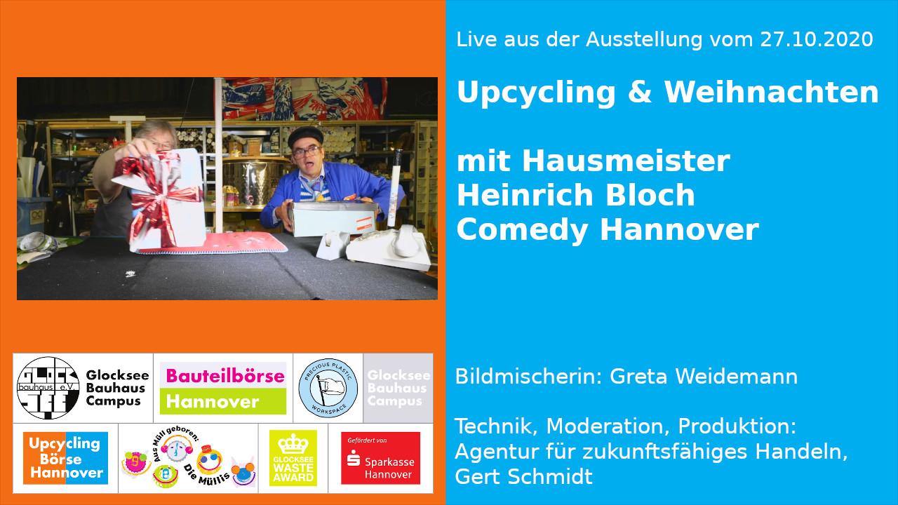 Live aus der Ausstellung: Upcycling und Weihnachten, Teil 1
