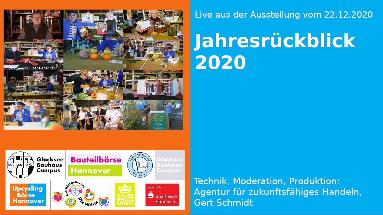 Live aus der Ausstellung: Jahresrückblick 2020