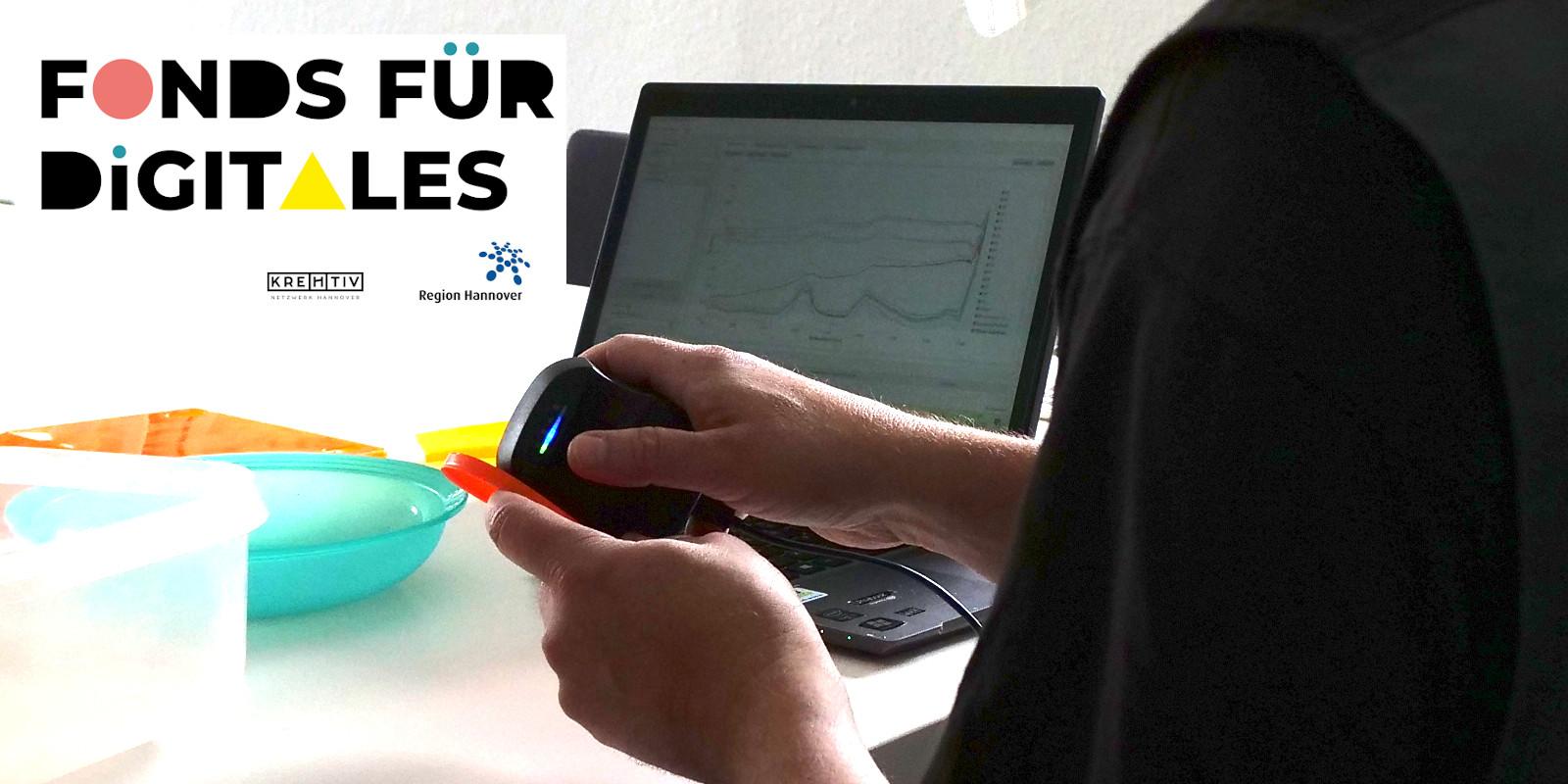 Region Hannover fördert mit dem Fonds für Digitales die Kunststoff-Erkennung beim Glocksee Bauhaus e.V.