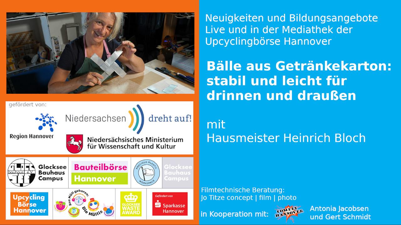 Ball, Getraenkekarton, spielzeug, hausmeister-heinrich-bloch-upcyclingboerse-hannover, #niedersachsendrehtauf